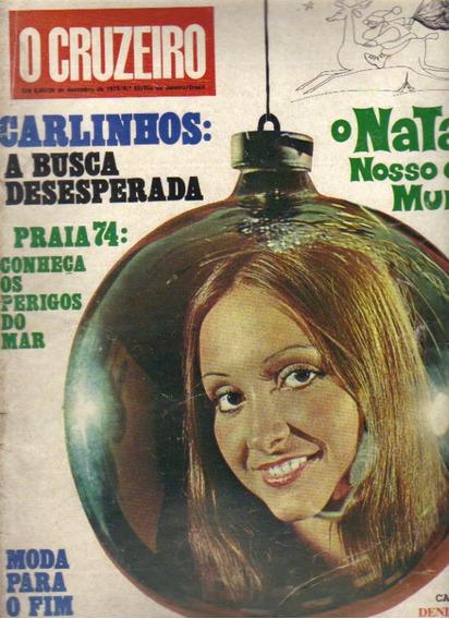 Revista O Cruzeiro Nº 52-26/dezembro/1973-rio De Janeiro