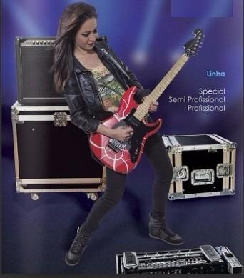 Case Para Guitarra Strato / Tele / E Padrões Ibanez (univers