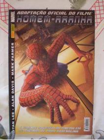 Adaptação Oficial Do Filme Homem-aranha Panini 2002!