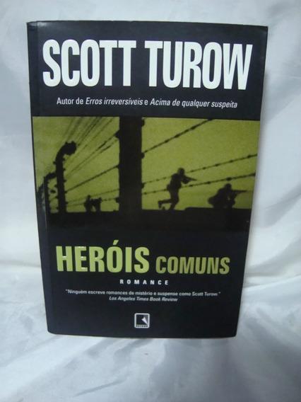 Livro Scott Turow Heróis Comuns - Romance