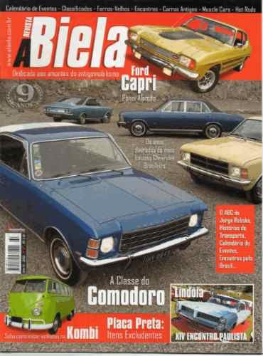 A Biela Nº47 Opala Comodoro 1975 A 1979 Vw Kombi Ford Capri