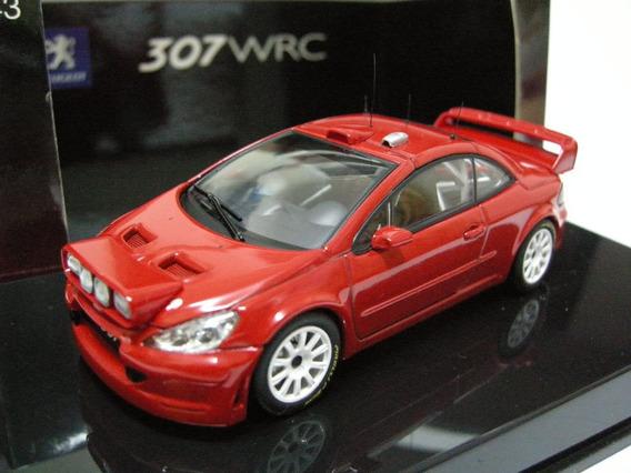 1:43 Autoart 60557 Peugeot 307 Wrc Plain Body Version Red