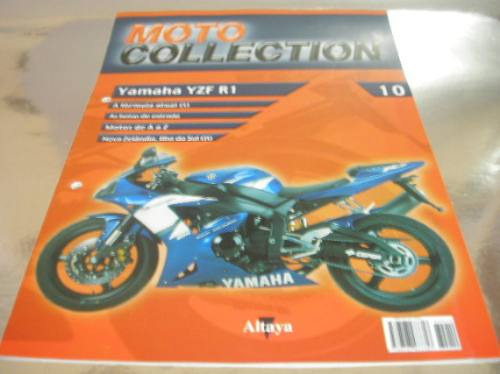 ( L - 170 ) Catálogo N. 10 Motocicleta Yamaha Yzf R 1