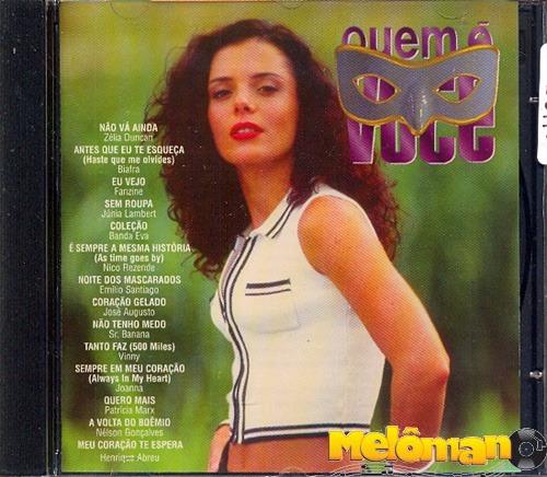 Quem É Você 1996 Trilha Sonora Da Novela Cd