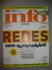 Revista Info Exame Ano 18 Nº 204 Março/2003 - Redes
