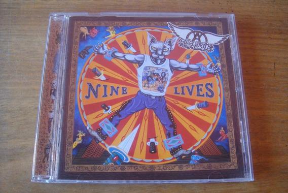 Cd Aerosmith: Nine Lives. Edição Especial Com 15 Faixas