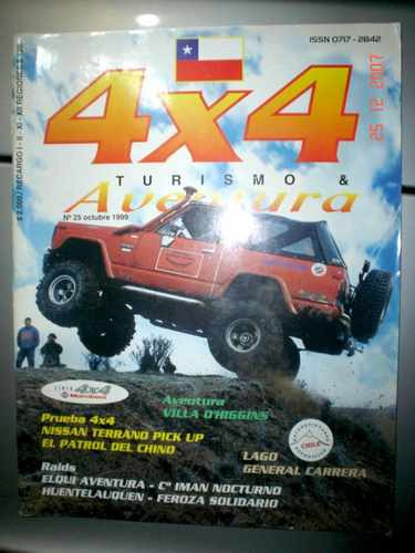 Revista 4x4 Turismo E Aventura Off Road Rally Jeep Nissan