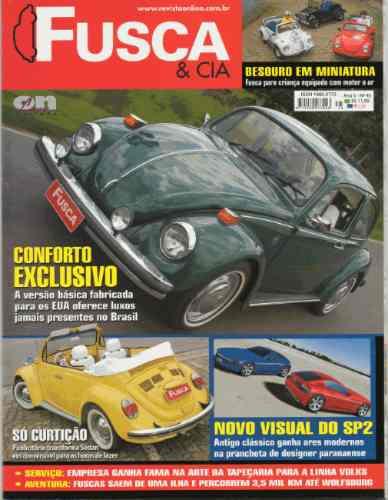 Fusca & Cia Nº45 Vw Básico 1974 Besouro Miniatura Motor A Ar