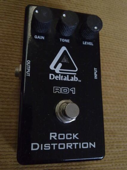 Pedal Deltalab Rd1 Rock Distortion - Super Conservado, Zero!