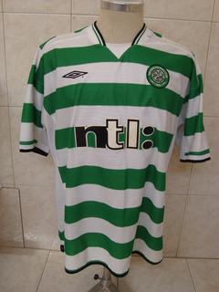 Antiga Camisa De Futebol Do Celtic Da Escócia - Umbro