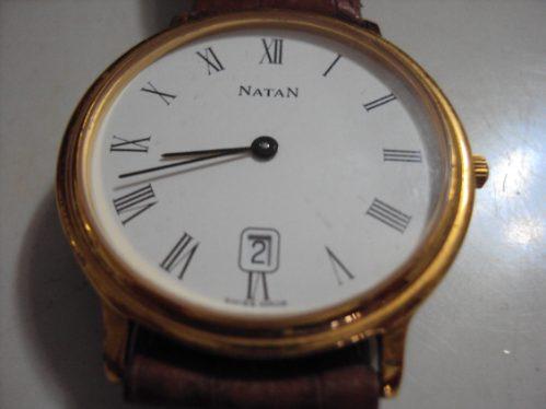 Relógio Natan Clássico Swiss Made