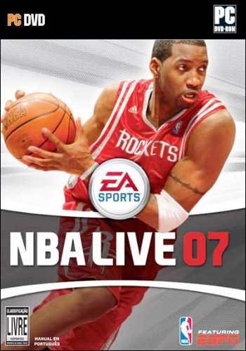 Game Pc Nba Live 07 Edição De Luxe Dvd Rom