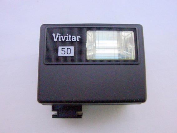 Antigo Flash Eletronico - Vivitar 50