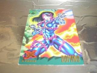 ( L - 350 ) Marvel Comics Card N. 115 X Force - Domino
