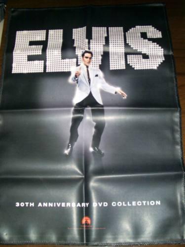 Poster Elvis Presley Material Sintético Rei Do Rock 30 Anos