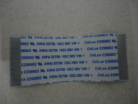 Cabo Flexivel Flat Flet Flex Awm 20706 105c 60v Vw-1 40 Vias