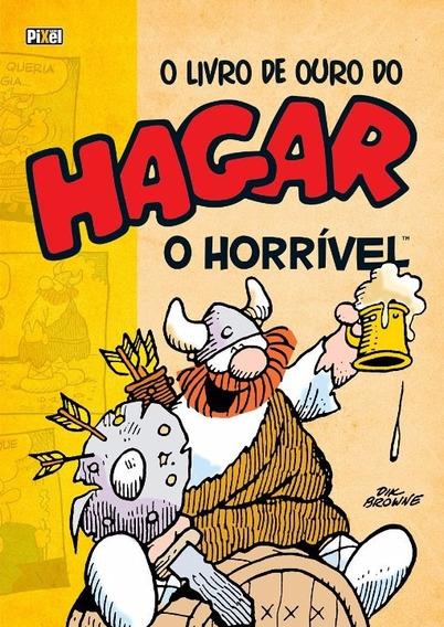 Livro De Ouro Do Hagar 02 - Pixel - Bonellihq Cx329 F18
