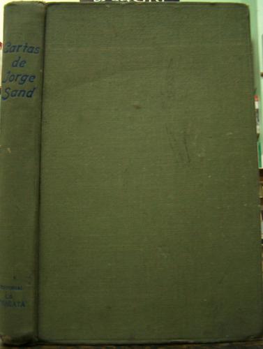 Cartas De George Sand * George Sand * 1946 *