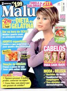 Revista Malu 334: Mariana Ximenes / Nadia Lippi / Cortes