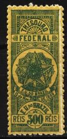 Brasil - Fiscal - Thesouro Federal 1889