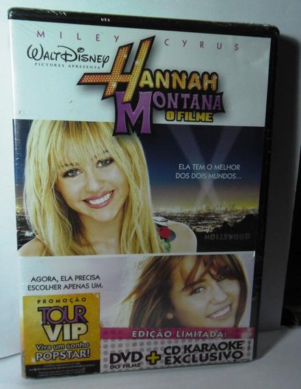 Hannah Montana - O Filme Dvd + Cd Karaokê Exclusivo Lacrado