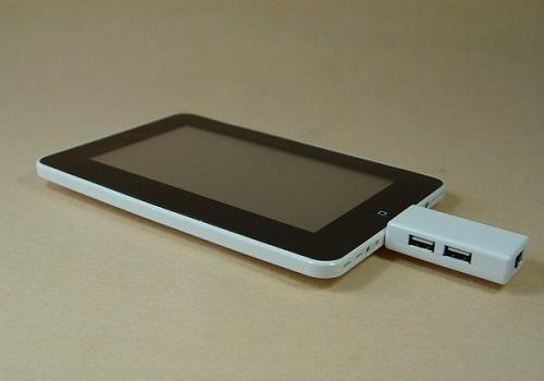 Adaptador Usb E Rede Para Tablet Via 8650 Plug 30 Pinos