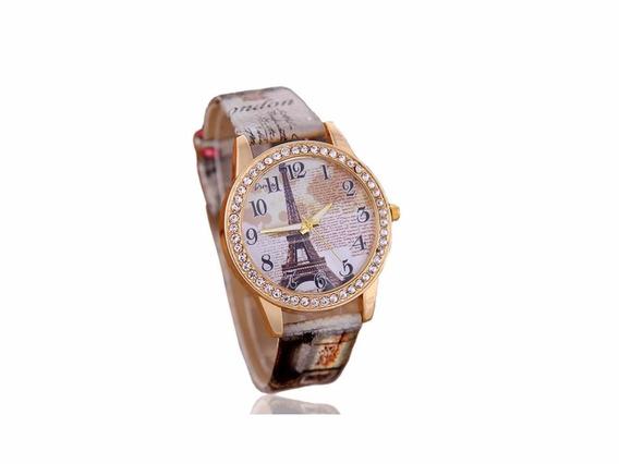 Relógio Importado De Couro Feminino Frete Grátis