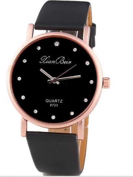 Relógio Unissex De Luxo L-107