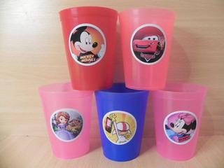 Vasos Plásticos Personalizados-golosinerosx10/bolsita Transp