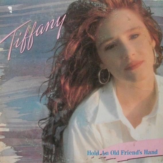 Lp Tiffany-hold An Old Friend´s Hand-1989-com Encarte.