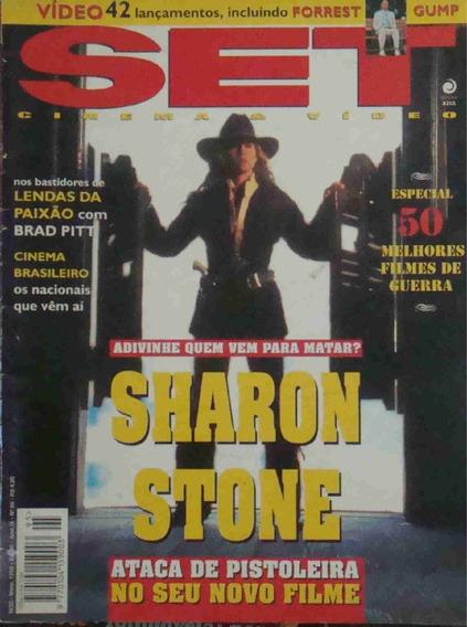 Revista Set Ano 9 No. 05 Sharon Stone Maio De 1995