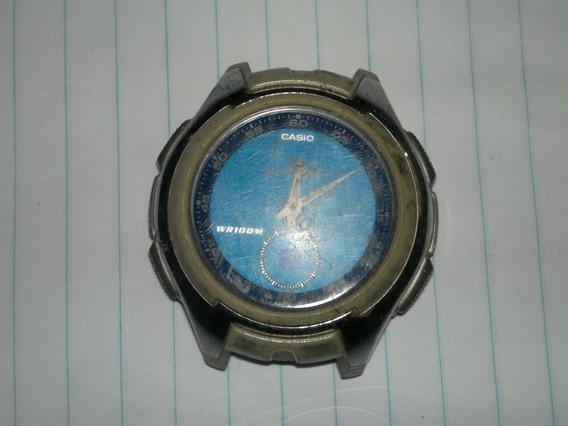 Relogio Casio Aq 160 Ana-digi 5 Alarmes Horamundi Iluminator