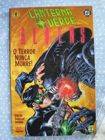 Lanterna Verde Versus Aliens! Especial! Ed. Abril Ago 2001!