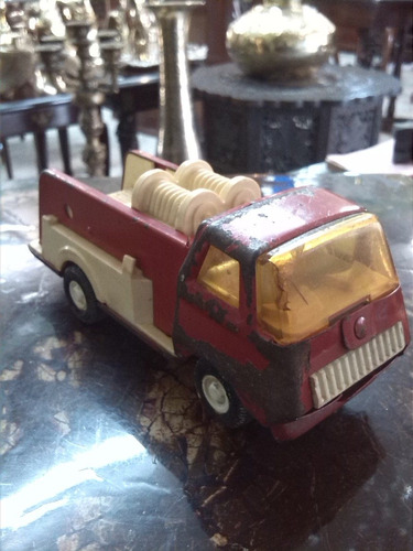 Camion Tonka Metalico De Colección Antiguo Bomberos Usa