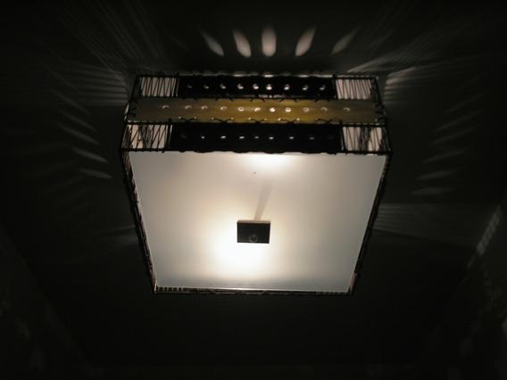 Luminária De Teto Estilo Africana