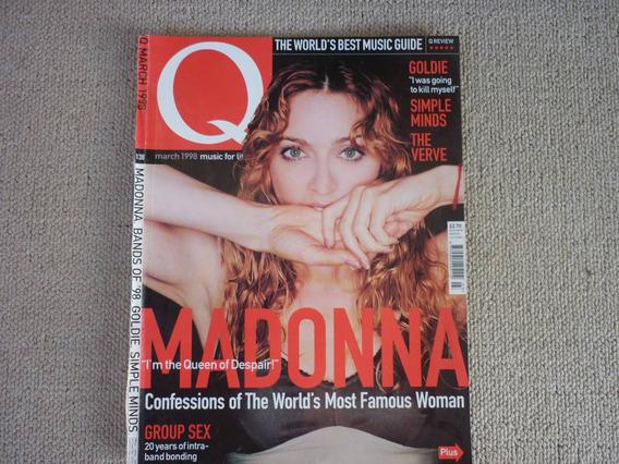 Madonna Revista Q - Março 1998