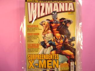 Cx S 100 Mangá Hq Marvel Dc Revista Raridade Wizmania 38