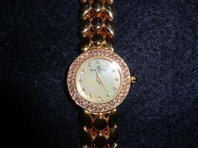 Relógio Baume&mercier Ouro 750-18kl Com Brilhantes.