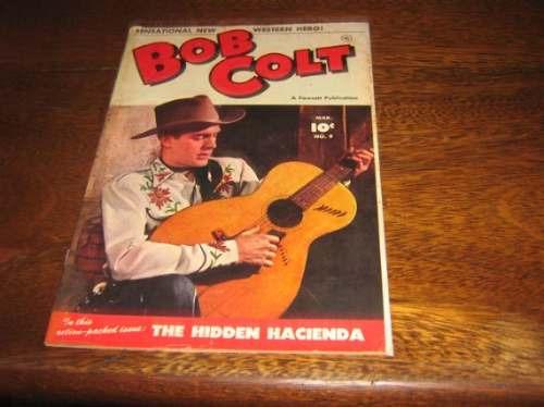 Bob Colt Nº 9 Março De 1952 Original Em Inglês
