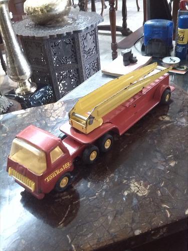 Camion Tonka Metalico De Colección Antiguo Bomberos 18 Usa