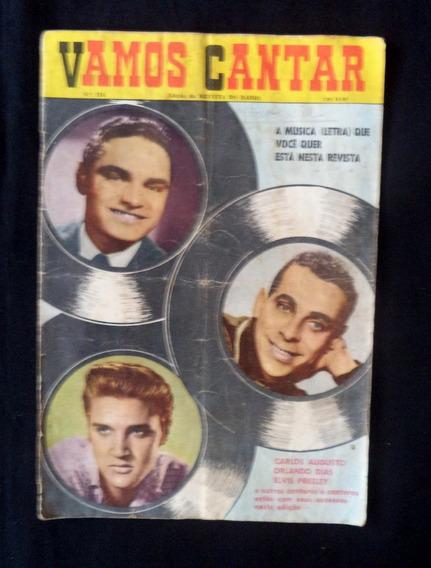 Vamos Cantar N° 16 Revista Antiga