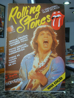 The Rolling Stones - Revista Poster Somtrês