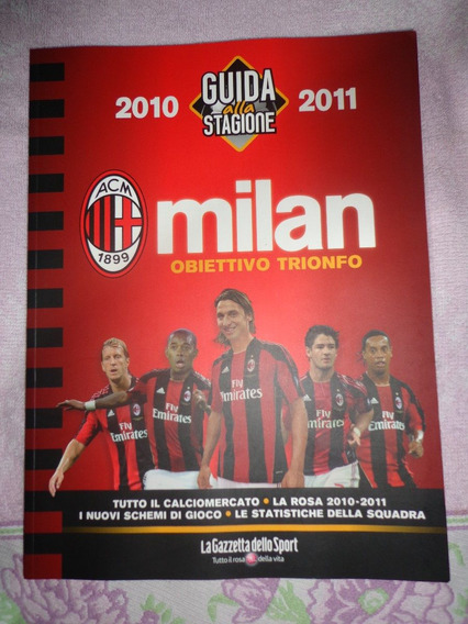 Livro Milan Guia Completa Temporada 2010/2011