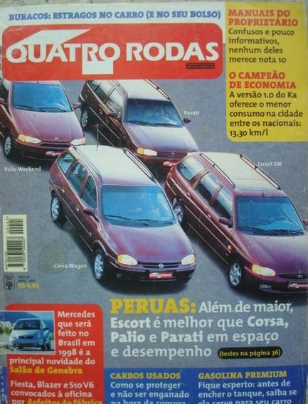 4 Rodas 441 Abril De 1997
