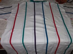 Playera Roundtree Yorke,l,algodon,hecha Honduras,blanca,$850