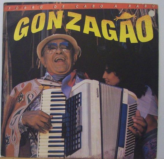 Lp Gonzagao - Forró De Cabo A Rabo - Rca Camden - 1986