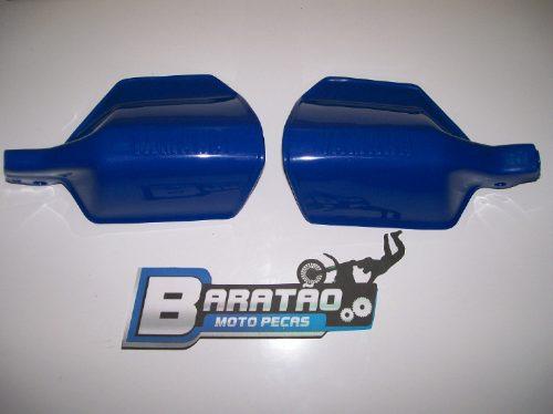 Yamaha Tenere 600 Dt 200 Protetor De Mão E Manete Cor Azul