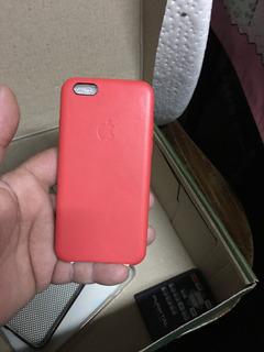 Estuche Original De Cuero Para iPhone 6