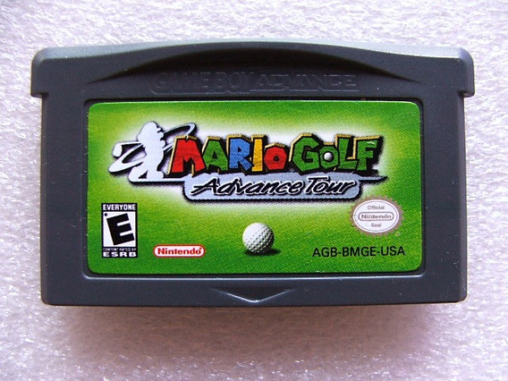 Mario Golf Advance Tour Gba Original Americano! Raríssimo!