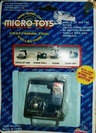 Antiguo Juguete - Micro Toys - Cierra En Miniatura
